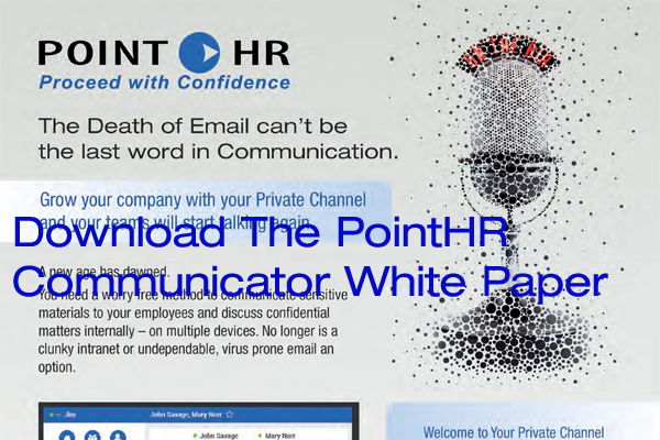Download PointHR Communicator white paper