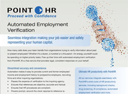 Download our PointHR Verifications white paper