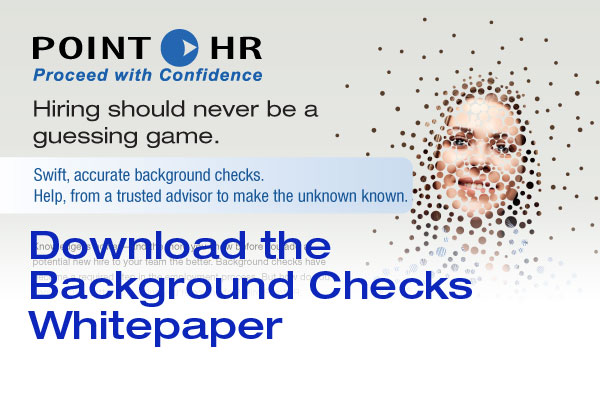 Download our PointHR Background Check white paper